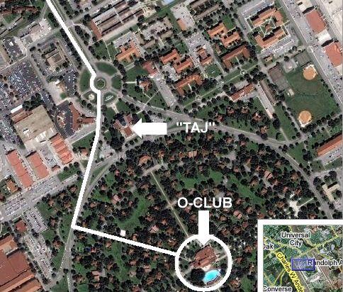 O'Club Map